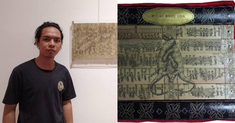 Mengenal Anes, Anak Manggarai Juara Dunia Seni Lukis Prasi